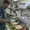 Food Truck Worker by Billy Joe