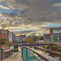 Foot Bridge At Gas Street Basin  Birmingham by Catchavista