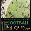 Football By The Underground by Nostalgic Prints