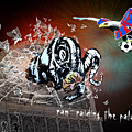 Football Derby Rams Against Crystal Palace Eagles by Miki De Goodaboom
