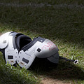 Football Shoulder Pads by Tom Mc Nemar