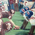 Football Throwback by Leslie Saucier