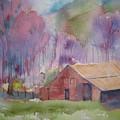 Foothills Farm Ll by Shirley Braithwaite Hunt