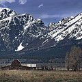 Foothills Of The Tetons by John Christopher
