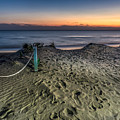 Footsteps In The Sand by Peter Hayward Photographer