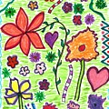 For The Love Of Flowers by Susan Schanerman