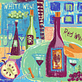 For The Love Of Wine by Arline Wagner