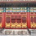 Forbidden City Building Detail by Thomas Marchessault