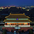 Forbidden City By Night by Paul Martin