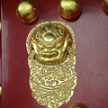 Forbidden City Door by Elisabeth Lucas