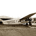 Ford 4-at-a Maddux Air Lines Los Angeles Circa 1928 by California Views Archives Mr Pat Hathaway Archives