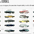 Ford Auto/edsel Ad, 1957 by Granger