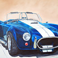 Ford Cobra In Oil by Margaret Fortunato