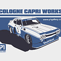 Ford Cologne Capri Works by Daniel Senkerik