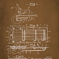 Ford Engine Lubricant Cooling Attachment Patent Drawing 1a by Brian Reaves