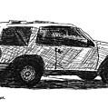 Ford Explorer by Eric Tressler