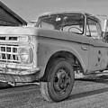 Ford F-150 Dump Truck Bw by Tony Baca