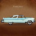 Ford Fairlane 1955 by Mark Rogan