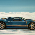 Ford Gt 2005 Painting by Paul Meijering