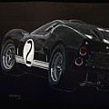 Ford Gt40 Racing by Richard Le Page