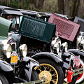 Ford Model A Line Up by April Wietrecki Green