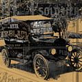 Ford Model T Made Using Found Objects by Design Turnpike