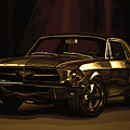 Ford Mustang 1967 Mixed Media by Paul Meijering