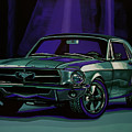 Ford Mustang 1967 Painting by Paul Meijering