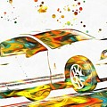 Ford Mustang Paint Splatter by Dan Sproul