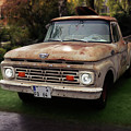 Ford Pickup, Ford 1964 by Hotte Hue