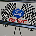 Ford Racing Emblem by Dean Ferreira