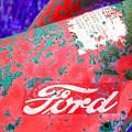 Ford Red by Tina B Hamilton