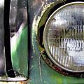 Ford Retro Truck Detail 1 by Karen Smith