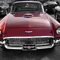 Ford Thunderbird Red V1 by John Straton