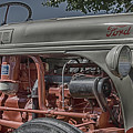Ford Tractor Antique by John Brink