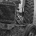 Ford Tractor by Shirley Sykes Bracken