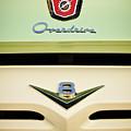 Ford V8 Pickup Emblem by Jill Reger
