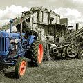 Fordson And The Threshing Machine by Rob Hawkins
