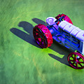 Fordson Tractor Toy 1 by Yo Pedro