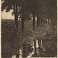 Forellenweiher (trout Pond) by Franz Von Stuck