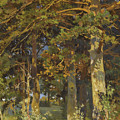 Forest Clearing by Ivan Shishkin