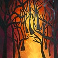 Forest Fire by Brooke Meislik