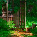 Forest Gateway by Lynn Hansen