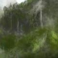 Forest Landscape 10-31-09 by David Lane