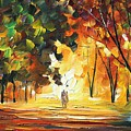 Forest by Leonid Afremov