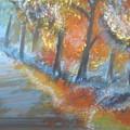 Forest Path.... by Hannah Firezar