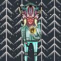 Forest Spirit, Forest Keeper by Kate Shamanska