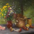 Forest Still Life by Alexander Alexandrovsky