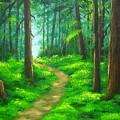 Forest  Walk by Shasta Eone