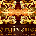 Forgiveness Spiritual Artwork By Omashte by Omaste Witkowski